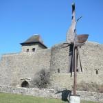 Hrad Helfštýn, hradby
