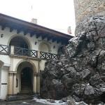 Nádvoří hradu Zbiroh