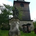 Kryštofovo údolí, zvonice kostela