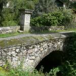 Kryštofovo údolí, mostek