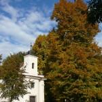 Satalice, kaple sv. Anny s památnými lipami
