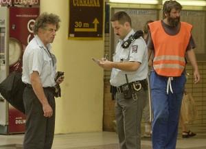 Praha - Policie na Hlavním nádraží