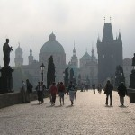 Praha - Karlův most, panorama
