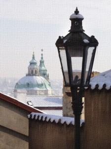 Praha, Hrad, zámecké schody