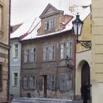 Praha, domy na Malé Straně