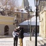 Praha, schody na Kampu