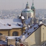 Praha, pohled z Hradu