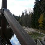Šumava, most přes Vydru