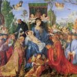 Růžencová slavnost, Albrecht Dürer