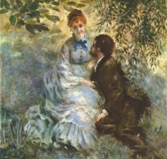 Milenci, Auguste Renoir