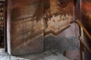Přirozená camera obscura na malostranské půdě