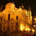 Chrám sv. Mikuláše v noci