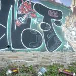 Graffiti pod Barrandovským mostem