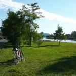 Cyklostezka začíná v Braníku