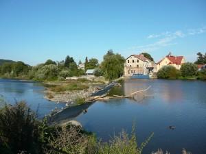 Jez u mostu v Černošicích