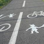 Na cyklostezce u Chuchle...