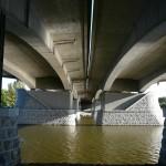 Vltava pod mostem v Lahovicích