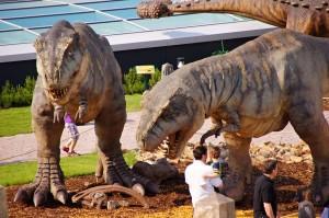 Dinopark, tyrannosaurus rex