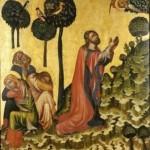 Ježíš Kristus na hoře Olivetské