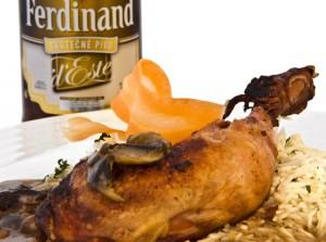 Kuře na pivní omáčce