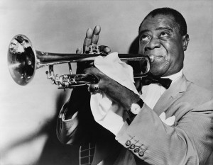 Louis Armstrong hrál i v Redutě