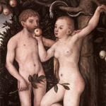 Adam a Eva, Lucas Cranach st.