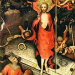 Zmrtvýchvstání Krista, Mistr třeboňského oltáře