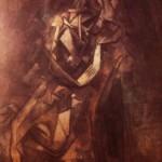 Žena v lenošce, Pablo Picasso