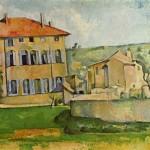 Dům v Aix, Paul Cézanne