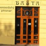 Pivovar Bašta, vchod