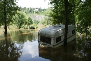 Povodeň v Praze - Braníku