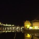 Praha, Hrad v noci