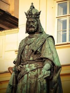 Praha, výstava Karel IV.
