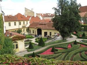 Vrtbovská zahrada na Malé Straně