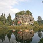 Skalní hrad Sloup: Malá mořská víla, S čerty nejsou žerty