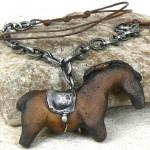 Šperk - kůň, Alena Šumová