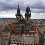 Týnský chrám a Staré Město