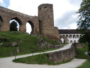 Velhartice, hrad