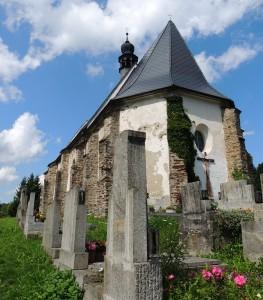Velhartice, kostel Maří Magdalény