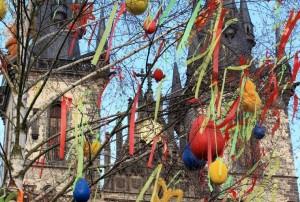 Praha: Velikonocční trh na Staroměstském náměstí