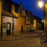 Zlatá ulička u Daliborky